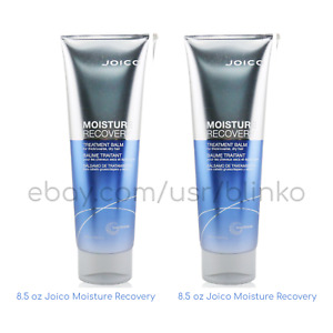 2 Pack / Joico Moisture Recovery Treatment Balm 8.5 fl oz 250ml Thick Coarse Dry