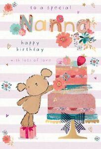 Nanna Birthday Card | Cake