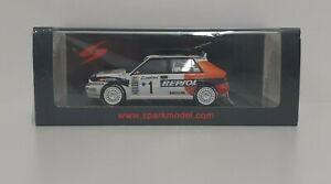 Diecast 1:43 Model Car Spark Spear Delta Rally Monte Carlo 1993 Modeling