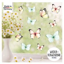 Fensterbild Frühlinh Ostern Schmetterlinge wiederverwendbare Fensteraufkleber