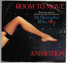 ANIMOTION  (Room To Move)  Polydor 871 418-7 + picture sleeve