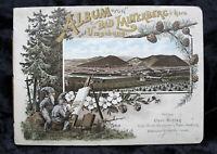 Litho.Album Bad Lauterberg Harz Umgebung um 1900 Bruno Bürger, Zwerge