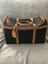 Authentic Louis Vuitton Dog Carrier 50Large Tote