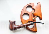 WOODEN PIPE - TOMAHAWK Tobacco Smoking Pipes Handmade Unsmoked - pear wood