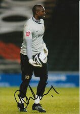 MK DONS HAND SIGNED NATHAN ABBEY 6X4 PHOTO.