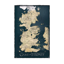 GAME OF THRONES - Map 61 x 91 cm Poster