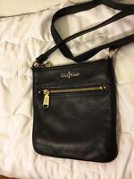 Cole Haan Black Leather Crossbody Accessories Women bag