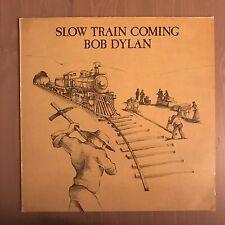 BOB DYLAN Slow Train Coming UK Vinyl LP EXCELLENT CONDITION A
