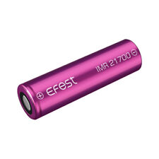1 x e-fest Rechargeable Battery 21700 IMR 5000 mAH 10A 3.7V Purple UK Genuine