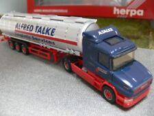 1/87 Herpa Scania Hauber '04 Jumbotank-Sattelzug Alfred Talke 150835 E