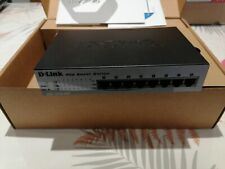D-link DES-1210-08P 8-Port 10/100 PoE Web Smart-III Switch