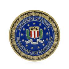 Gold Plated Saint Michael Patron Stint of Law Enforcement Commemorative Coin Art