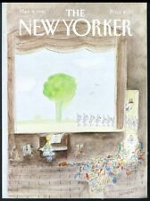 New Yorker magazine framing cover March 9 1981 Jean Jacques Sempe ballet girls