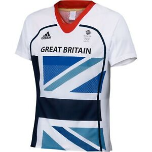 Adidas Team GB London 2012 Olympics Short Sleeve Running Tee Size Medium BNWT