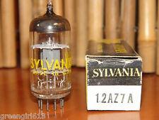 Vintage Sylvania 12AZ7 A Stereo Tube Results = 4575/4300