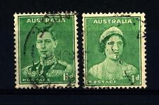 AUSTRALIA - 1937-1946 - Regina Elizabeth - Re George VI