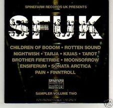 (K819) SFUK, Sampler Colume Two - DJ CD