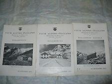 CLUB ALPINO ITALIANO SEZIONE DI MILANO BOLLETTINO MENSILE NUMERI 10-11-12 1951
