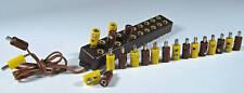 Modellbahn-StromVerteilerleiste mit Kabel+Stecker #S2