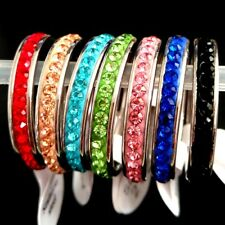 50pcs One Row Zircon Stainless Steel CZ Wedding Ring Lovers Friends Party Gift
