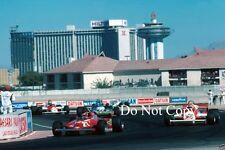 Gilles Villeneuve Ferrari 126 CK Las Vegas Grand Prix 1981 Photograph