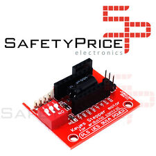 A4988/DRV8825 stepper motor driver control panel/expansion board