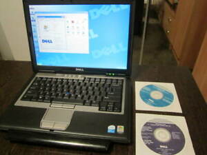 Dell Latitude D620 XP Pro SP3 Laptop MS Office RS-232  DVD/CD Retro Apps Games