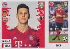 Panini Sticker Fifa 365 2019 Nr. 163 Niklas Süle FC Bayern München NEUWARE Bild