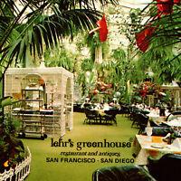 Vintage 1960s Lehr's Greehouse Restaurant Antiques Postcard Whitehall Canterbury