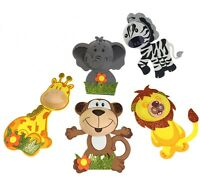 5 10 15 20 Baby Shower Safari Jungle Animals Decorations Foam Favors Girl or Boy