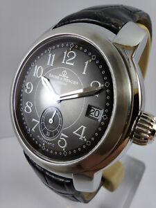 BAUME & MERCIER Capeland ref MV045221 Stainless Steel Automatic Men's Watch Mint