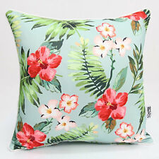 Tropical Floral WAIKIKI Outdoor Scatter Pillow Cushion COVER