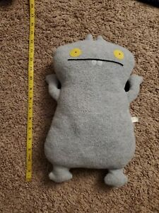 Uglydoll Babo Grey from 2002 14 Inches