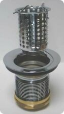 Duplex strainer assembly, Brass chrome plated