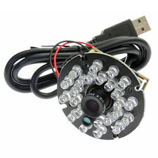 IR 720P USB Camera module with audio and IR Cut 24PCS IR LED 3.6mm lens 1.0mp