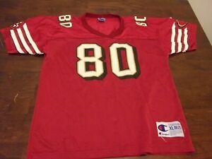 Jerry Rice San Francisco 49ers youth 18-20 Champion NFL jersey kids