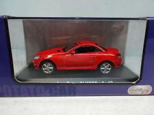 Potatocar : Mercedes Benz SLK 350 Closed Roof Red 1:43 New PC80105