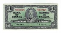 1 One Dollar Kanada 1937 Canada King George VI