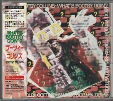 Bootsy Collins What's Bootsy Doin'? Japan CD w/obi 25DP-5299