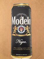 Cerveza Negra Modelo Can Shaped Tacker Metal Tin Bar Pub Beer Sign