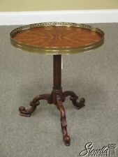 L42241: THEODORE ALEXANDER 5005-022 Marquetry Small Occasional Table ~ NEW