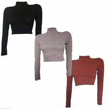 Unbranded Polo Neck Medium Knit Women's Jumpers & Cardigans