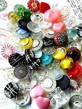 50 schöne alte und verschiedene Glasknöpfe, Vintage, Konvolut, Sammlung