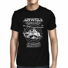 1Tee Mens TV Helicopter  T-Shirt