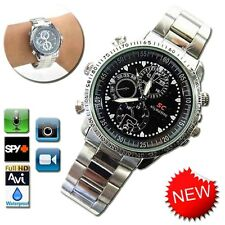 8GB Waterproof Spy Watch Pin-hole Camera Digital Video DV DVR Camcorder