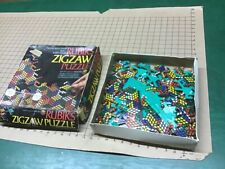 vintage RUBIK'S zigzag Puzzle - 1982 Ideal toy - pieces not counted