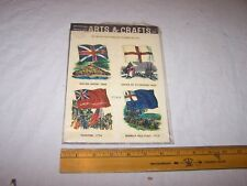 1968 Meyercord Decals Flags British Union Taunton Bunker Hill Cross of St George