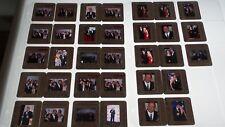 James Gandolfini SOPRANOS CAST  LOT OF COLOR 35MM SLIDE TRANSPARENCY PHOTO #