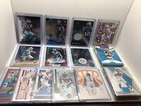 Panthers 64 Card Lot, McCaffrey Rookies, Bridgewater, Mem, SP, Inserts, Prizm