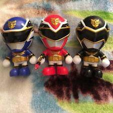 Tensou Sentai Goseiger Power Rangers Megaforce Deformed vinyl pvc figure